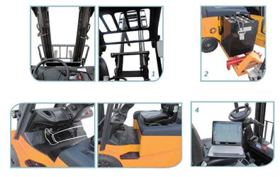 CPD18 Electric Forklift Truck details