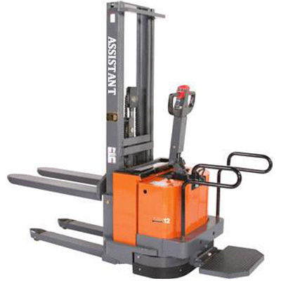1.0-2.0T AC Electric Pallet Stacker Forklift