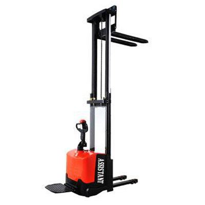 1.2-1.6T Narrow Leg Electric Pallet Truck Stacker