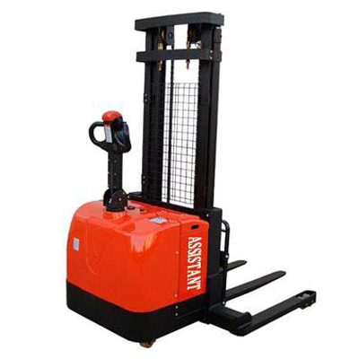1.4T Wide Leg Electric Stacker Forklift