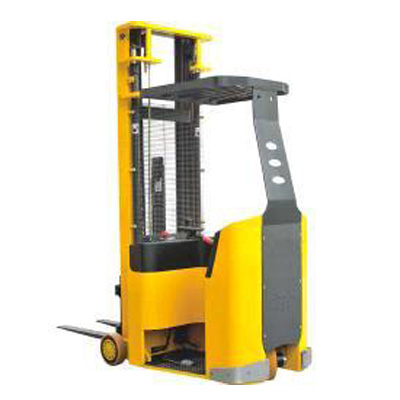 1t Narrow Aisle Forklift Truck Stacker