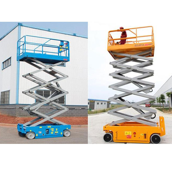 Electric Engine Self Propelled Scissor Lift GTJZ12