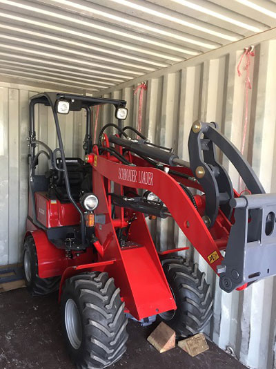 Mini Loaders to Romania 1